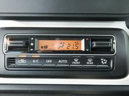 【オートエアコン】寒い冬も暑い夏でも全席に快適な空調を届けます♪