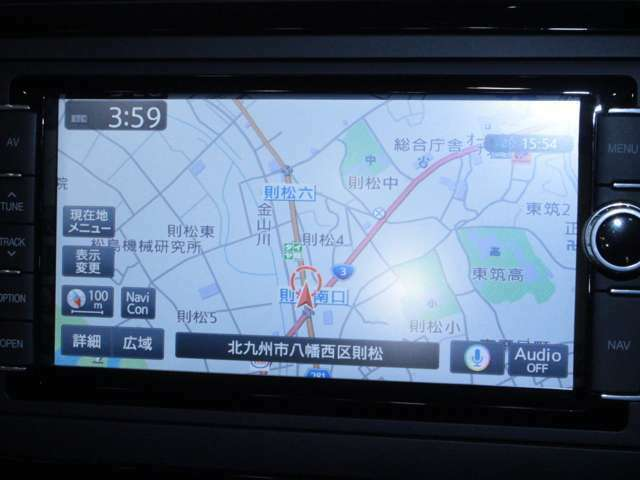 【純正SDナビ】遠方へのドライブも安心ですね! ワンセグTV/DVD/CD/SD/Bluetooth/USB端子/バックカメラ