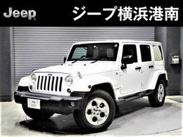 ジープ ラングラー アンリミテッド サハラ 4WD 認定中古車・SDナビゲーション・ETC
