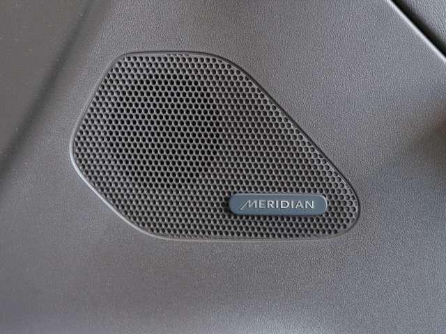 MERIDIANサウンドシステムでドライブをお楽しみください。