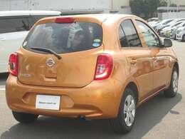 ボディカラーはキレイな  サンライトオレンジ メタリック です