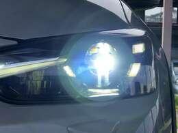 ナイトドライブの強い味方!LEDヘッドライトです!