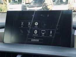 【 ナビゲーション 】ナビ機能付きですので不慣れな場所での運転もご安心ください!フルセグTV・DVD再生・Bluetoothなどがご利用頂けます!!!