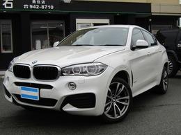 BMW X6 xドライブ 35i Mスポーツ 4WD ナビTV 黒革 サンルーフ ACC