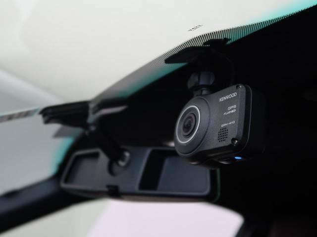 ケンウッド製ドライブレコーダー装備しております。