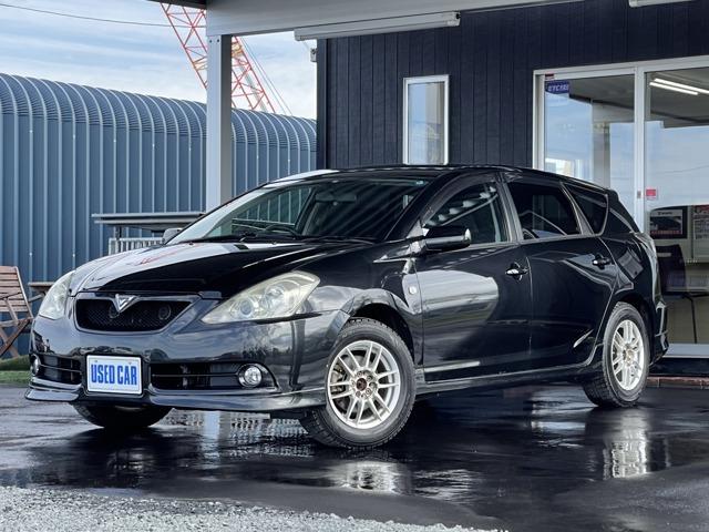 当店のラインナップをご覧いただきまことにありがとうございます。平成17年式カルディナワゴン ZT 4WD 入庫しました。