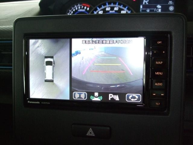 全方位モニター搭載!リヤパーキングセンサーと合わせて駐車時のサポートをしてくれます!