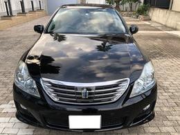 トヨタ クラウンハイブリッド 3.5 HDDナビ 黒革シート TVキット