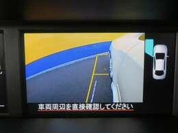 サイドカメラも付いています!死角となる部分もナビの画面で確認することができ、狭い場所などの運転もサポートしてくれます!