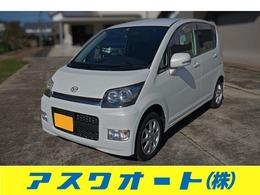 ダイハツ ムーヴ カスタム SDナビ・TV・AUX端子 キーフリー 車検2年