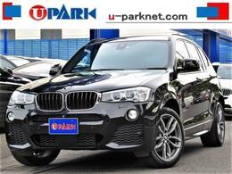 BMW X3 xドライブ20i Mスポーツ 4WD 後期 1オナ 黒革 ACC インテリS OP19AW