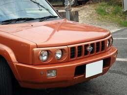 ボディカラーはテラコッタオレンジ!いい色です!着せ替え全塗装も可能です!