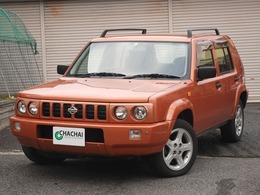 日産 ラシーン 2.0 フォルザ 4WD オリジナルレザーシート 背面タイヤカバー