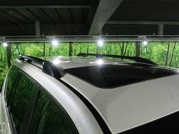 【ルーフレール】オプション装備の一つです!SUVをさらなる高みへと風格を上げます!