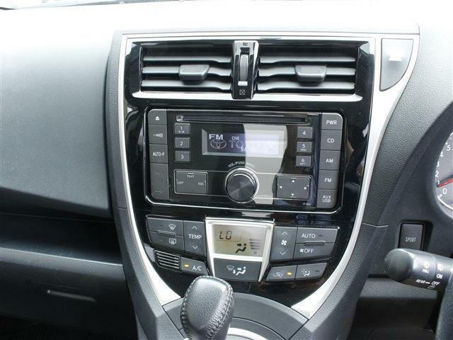 AUTOエアコンで空調も自動で調節!