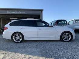 BMWのステーションワゴンは、ツーリングの名に恥じない駆け抜ける喜びです。