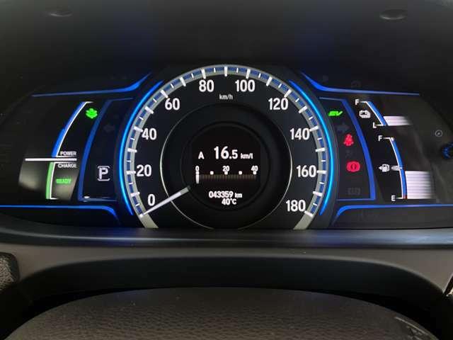 【メーター】運転の視界を妨げないコンビネーションメーター