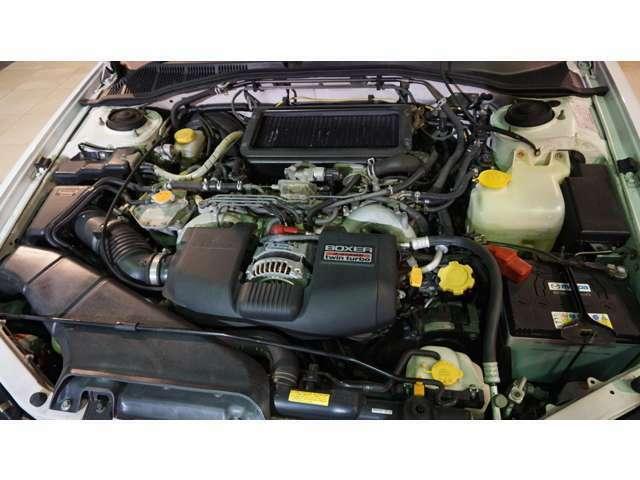 2000ccボクサーエンジン!ターボ!4WD!