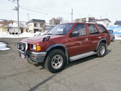いすゞ ミューウィザード の中古車 3.1 タイプE ディーゼルターボ 4WD 北海道帯広市 53.0万円