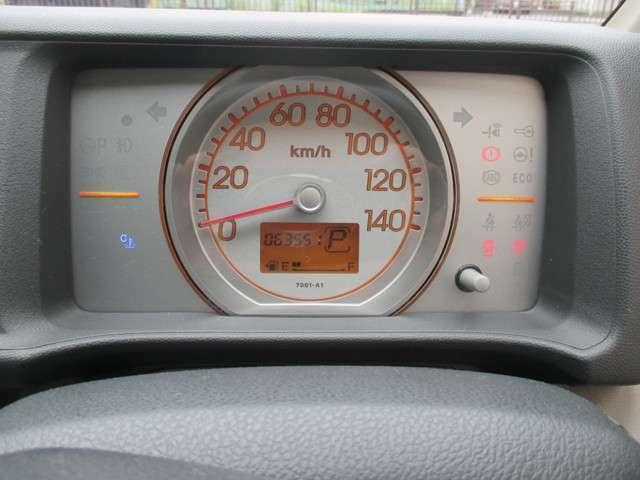 視認性の良いメーターです!走行距離は6.5万kmですので、これからまだまだ活躍してくれそうです!