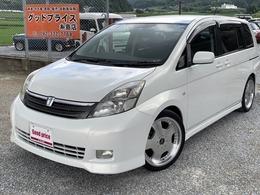 トヨタ アイシス 2.0 プラタナ Gエディション ユーザー買取車 社外18インチアルミ