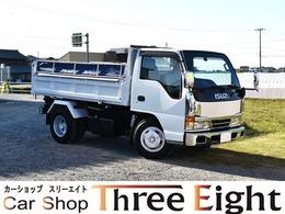 いすゞ エルフ 4.6 三転強化ダンプ 高床 ディーゼル ワンオーナー車 原動機4HG1