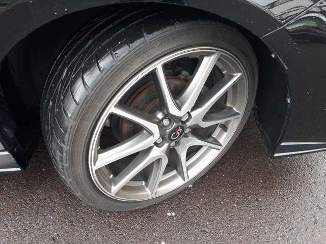 タイヤの溝もまだまだ大丈夫です!