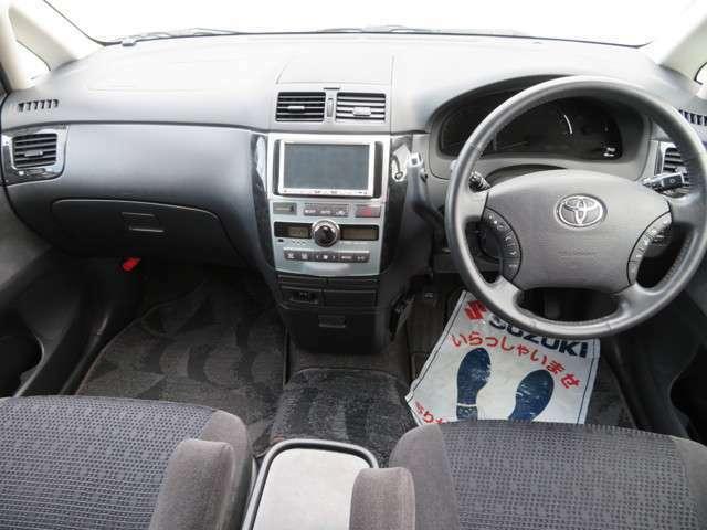 大きなフロントガラスで視界良く運転しやすい♪安全運転に視界は重要ですね!