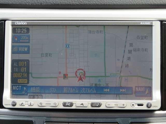ナビ搭載で、家族で遠方へのドライブも道に迷わず安心です!