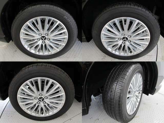2018年製夏タイヤです。タイヤ溝も7mmほど残っております♪ タイヤサイズは225/55R18