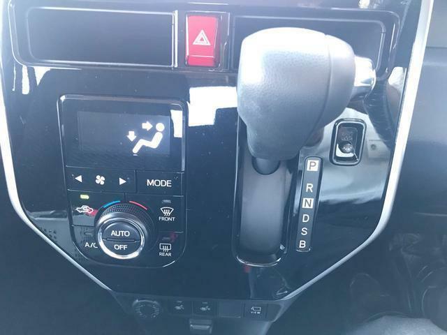 オートエアコンで車内も快適!