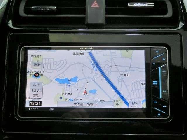 カロッツェリアSDナビ【AVIC-CW900】Bluetooth・ワンセグTV・CD・DVD・SD