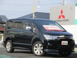 三菱 デリカD:5 2.4 ローデスト G パワーパッケージ 4WD 9型ナビ地デジTV両側パワスラ7名乗車