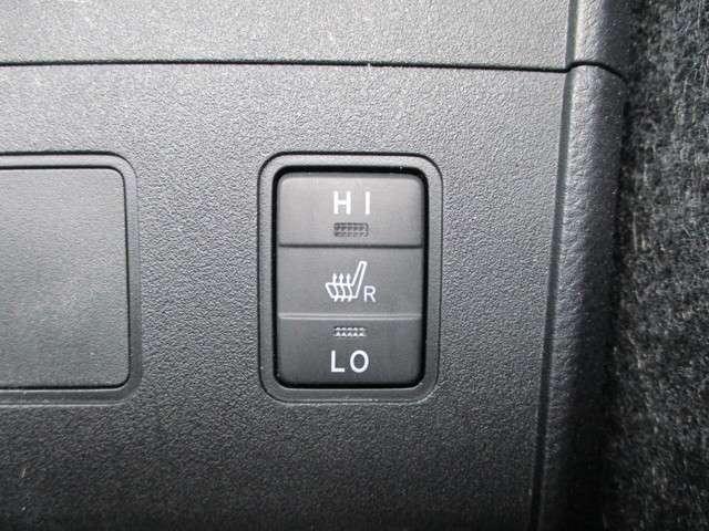 シートヒーター付なので、ほかほかあったか( *´艸`)☆寒い季節に嬉しい装備です♪