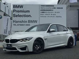 BMW M3セダン コンペティション M DCT ドライブロジック 1オーナーMサスハーマンカードン20AW