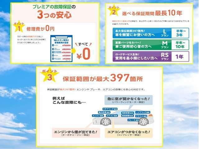 Bプラン画像:保証をつけておけば万が一の際の修理代が0円。詳しくは販売店でかくにんを。