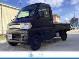 三菱 ミニキャブトラック 660 黒トラ 660/Vタイプ/5速マニュアル/ETC/ナビ