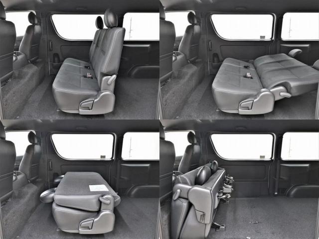 セカンドシートも特別仕様車専用シートです!