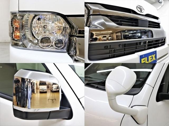 〔メーカーオプション〕LEDヘッドランプ、衝突軽減ブレーキシステム、インテリジェントクリアランスソナー、ガッツミラー同色塗装!