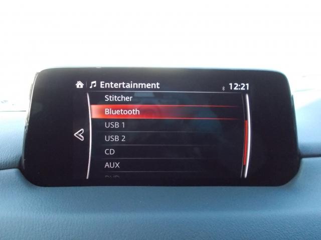 BluetoothやUSB、CD、DVDと様々なオーディオソースを備えてます