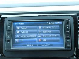 ナビは、CDDVDはもちろんTV、ブルートゥース、CD録音機能もついております!
