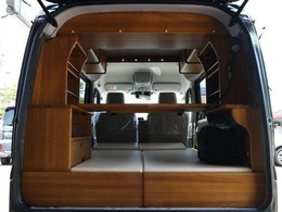 スズキ エブリイワゴン 660 PZターボスペシャル ハイルーフ 軽キャンピングカー 車内泊 構造変更不要