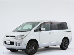三菱 デリカD:5 2.4 M 4WD 禁煙/ワンオーナー/ジオランダーAT/フ