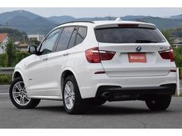 重心の高いSUVですが、BMWらしいスポーティな走りを楽しめることで評価高いBMW X3
