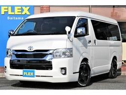 トヨタ ハイエース 2.7 GL ロング ミドルルーフ FLEXオリジナル内装デニムVer1.5