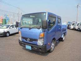 日産 アトラス 積載1100Kg-Wキャブ車 新明和600Kg-垂直ゲート