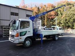 日野自動車 レンジャー H22 2.75t 4段 ラジコン AT車 タダノZE304HRNS 荷台L540 全塗装済