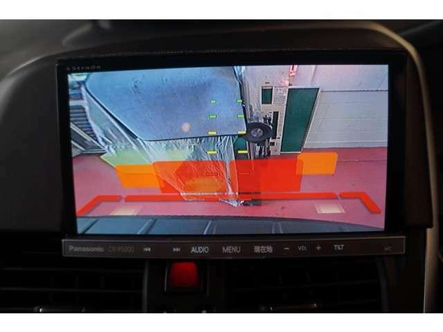 Bプラン画像:バックカメラを装備しているので、駐車場でも安心です☆