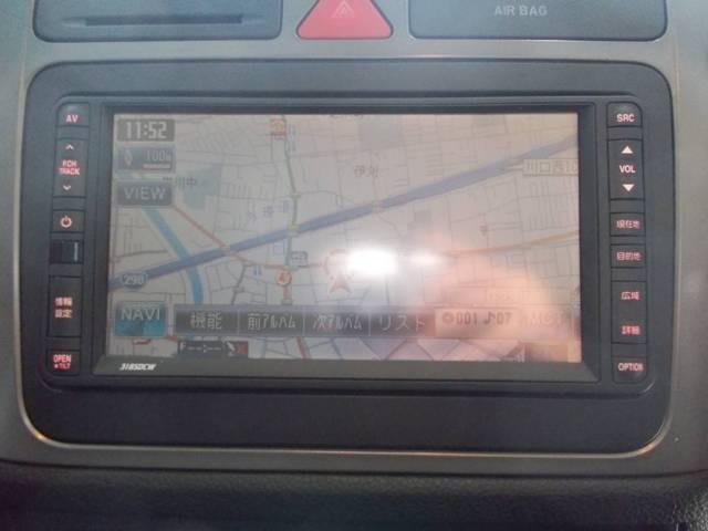 HDDナビ 地デジフルセグテレビ バックカメラ CD録音 DVD再生 AUX SD
