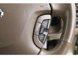 快適装備【クルーズコントロール】搭載!設定した速度でのオートクルーズが可能に♪ロングドライブや高速道路などで活躍致します♪
